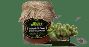 daghmous honey or spurge honey or cactus honey