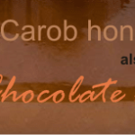 what is carob honey? a powerful antioxidant chocolate treat!