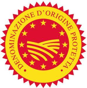 PDO logo from Italy