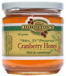 where to find cranberry blossom honey