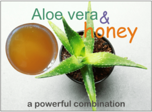 aloe vera honey health benefits