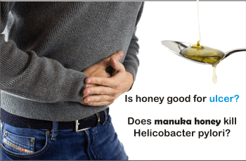 does manuka honey kill h pylory
