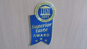 superior taste award for greek honey in 2013