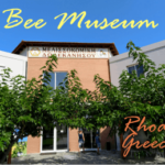 the amazing bee museum I found in Greece