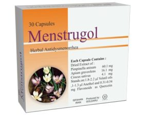 menstrugole releases period pains