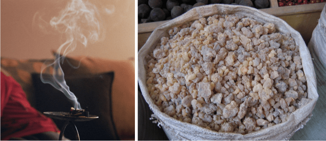 what is frankincense resin